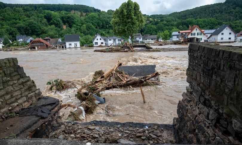 Clima 14 volte piu alluvioni Europa entro 2100
