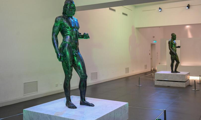 bronzi riace ricerche terza statua