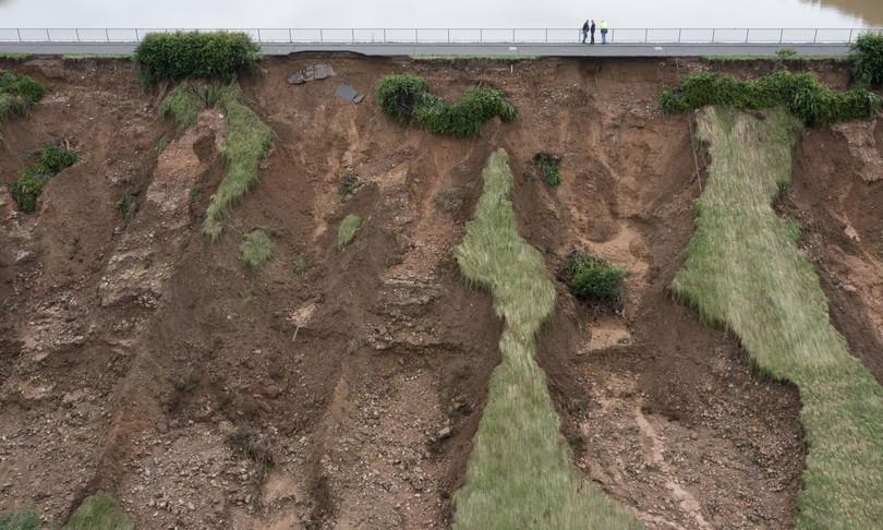 diga germania morti alluvione danni