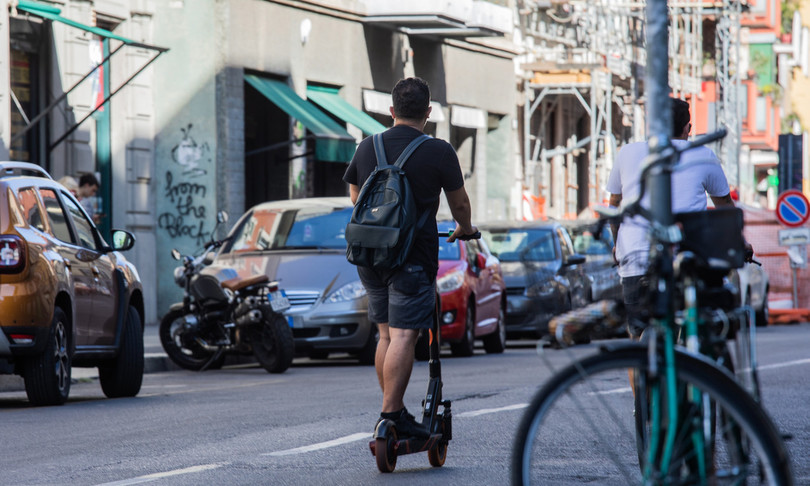 sharing mobility boom monopattini elettrici