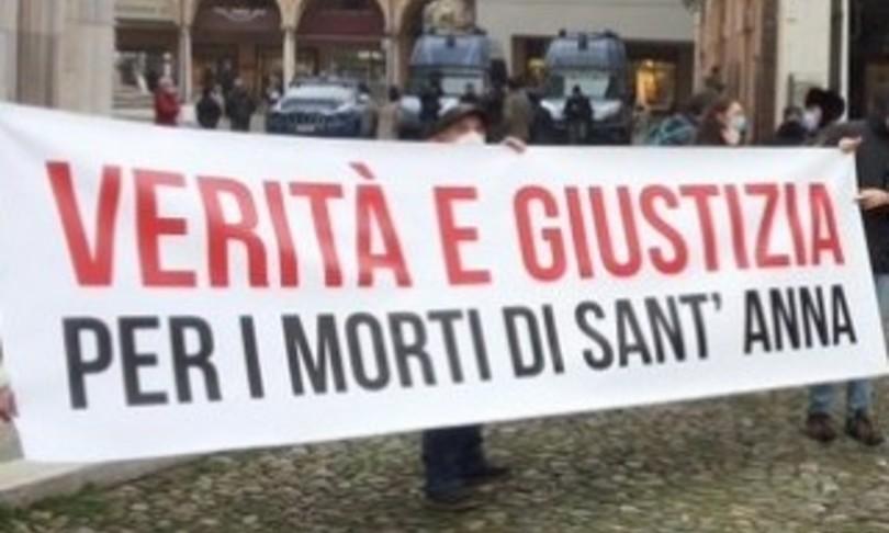 Modena nudi ammanettati picchiati detenuto Cartabia