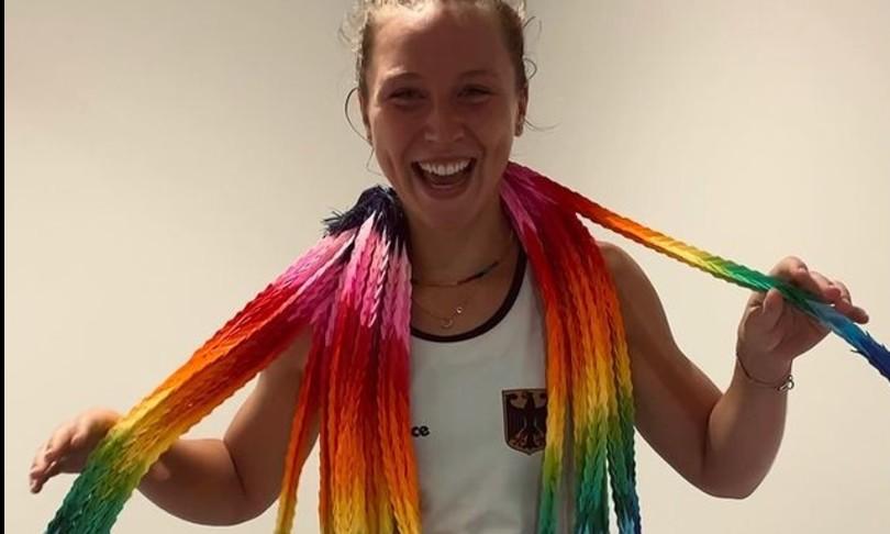 tokyo giochi olimpici olimpiadi cio fascia arcobaleno nike lorenz