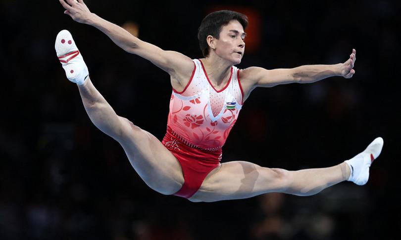 tokyo olimpiadi giochi olimpici ginnasta uzbeka chusovitina
