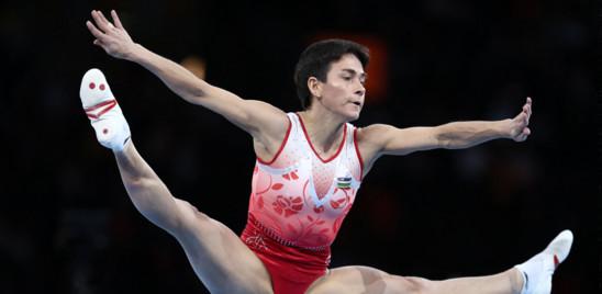 Oksana Chusovitina, la ginnasta più anziana di sempre ai Giochi