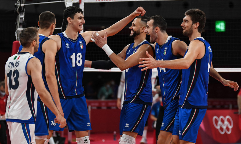 volley italia olimpiadi