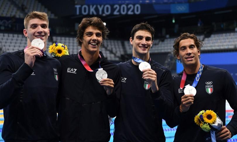 tokyo olimpiadi argento bronzo nuoto azzurro italia
