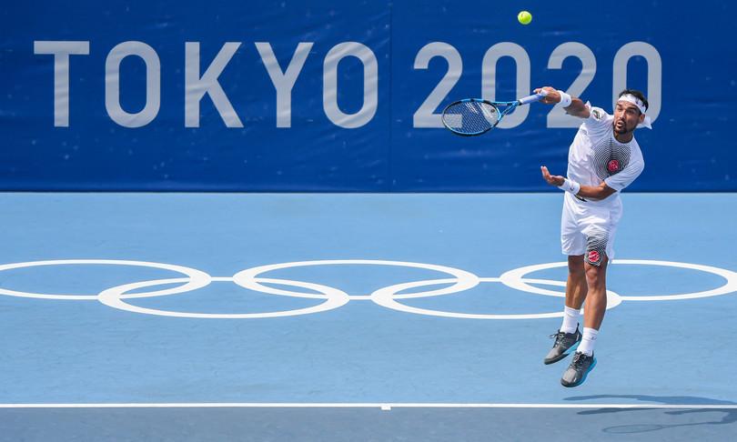 tokyo 2020 fognini giorgi tennis