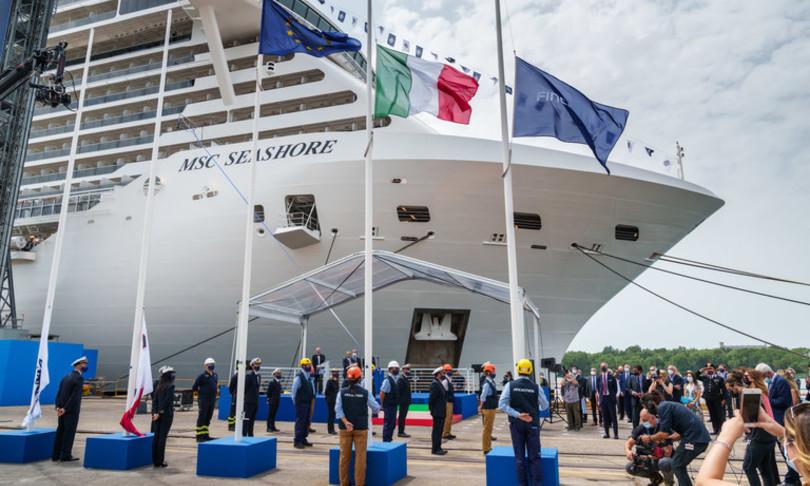 Fincantieri Msc Seashore nave crociera