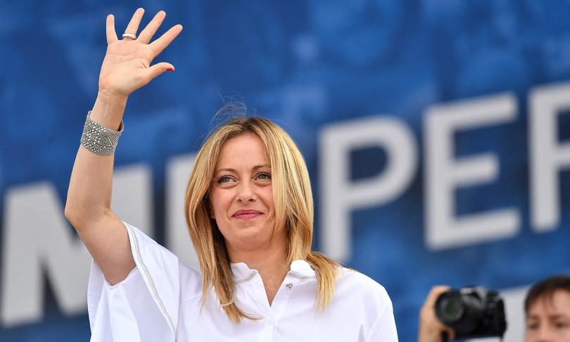 Giorgia Meloni vaccinata