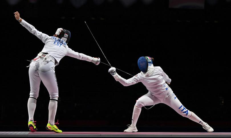 olimpiadi Tokyo scherma azzurre spada corsa bronzo