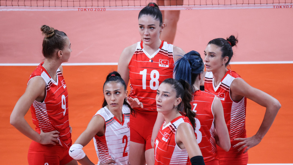Le pallavoliste turche