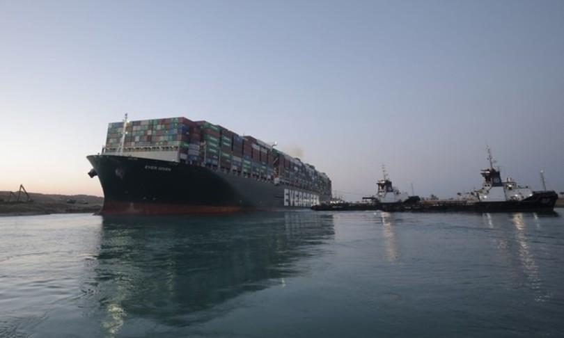 Canale Suez Ever Given arriva nel porto di Rotterdam