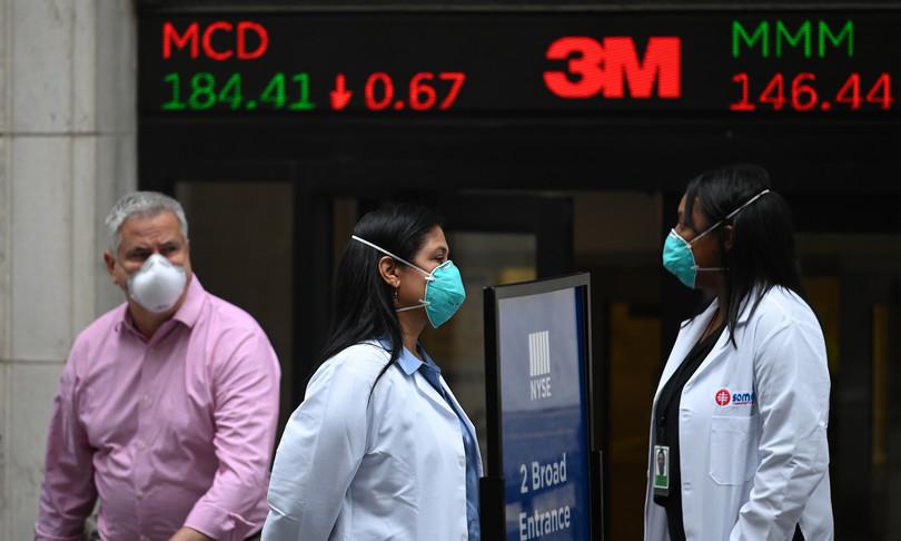Wall Street chiude in rialzo con trimestrali e Pil Usa