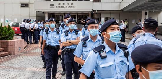 Nove anni al primo condannato per la legge sulla sicurezza di Hong Kong
