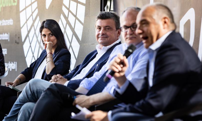 primo confronto candidati sindaco Roma