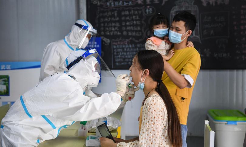 Cina ritorno infezioni variante Delta