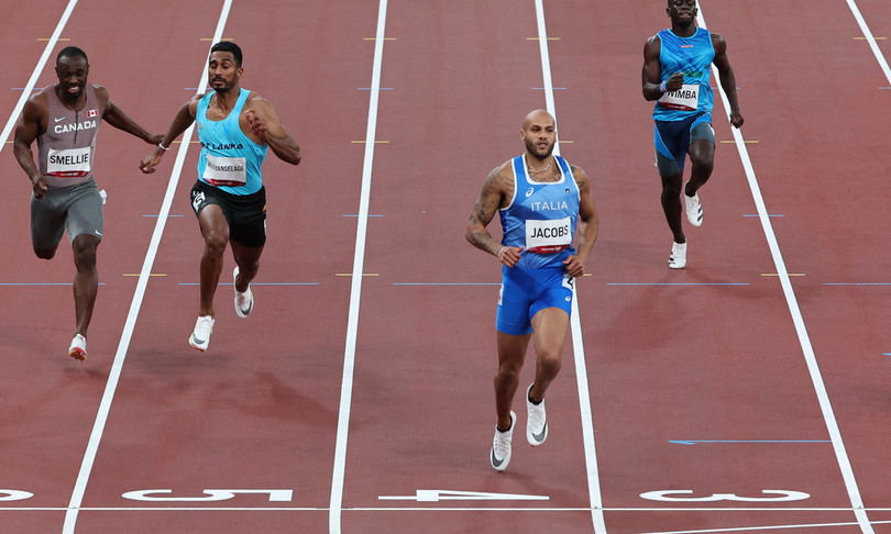 tokyo 2020 marcell jacobs record italiano
