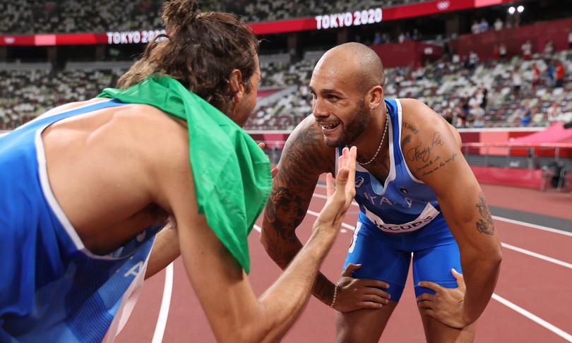 jacobs tamberi oro olimpico 100 metri salto in alto