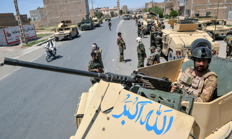 offensiva talebana si combatte nella citta di Lashkar Gah
