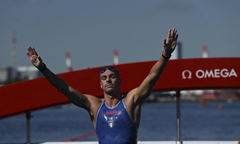 olimpiadi tokyo paltrinieri bronzo nella 10 km fondonuoto