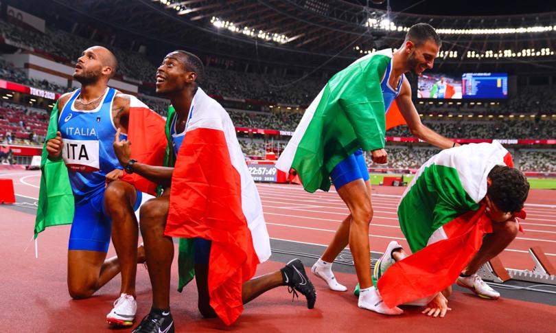tokyo 2020 atletica staffetta oro italia nella storia