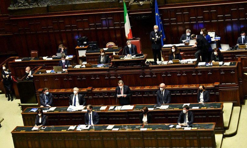 Parlamento Governo fisco giustizia green pass