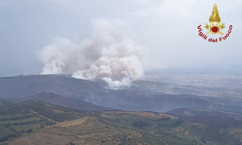 allarme incendi protezione civile aspromonte