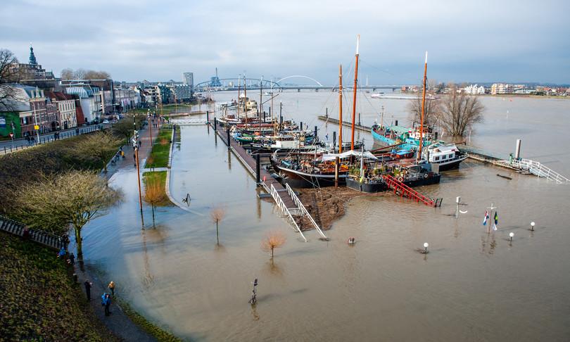 livello mare olanda