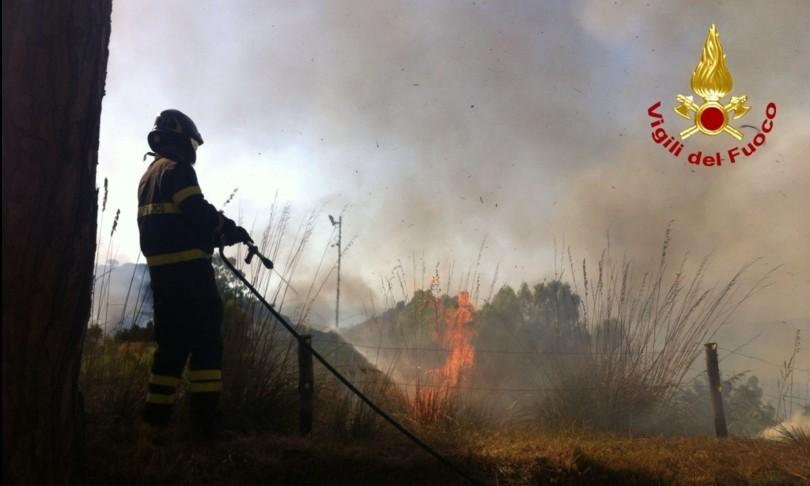 Emergenza incendi sud