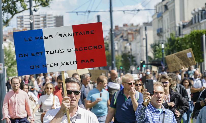 francia quinto sabato manifestazioni anti pass sanitariocovid
