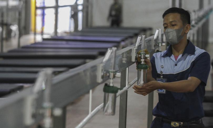 covid indonesia robot consegna cibo malati villaggio isolato