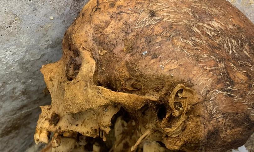Archeologia Pompei necropoli porta Sarno tomba liberto