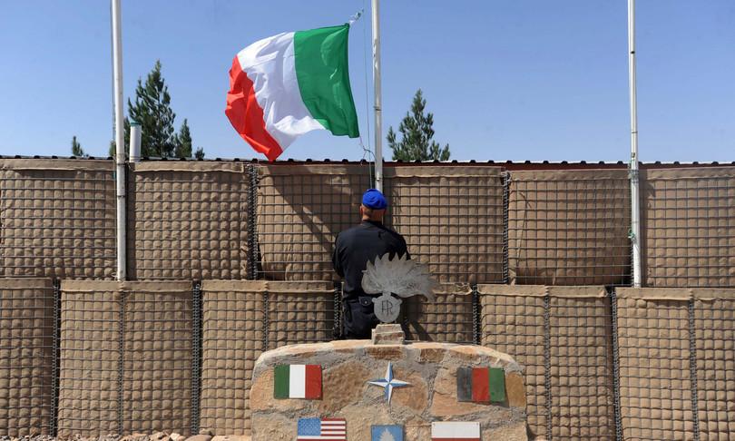 dolore militare italiano ferito Afghanistan triste epilogo missione