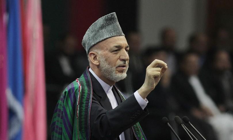 afghanistan karzai talebani