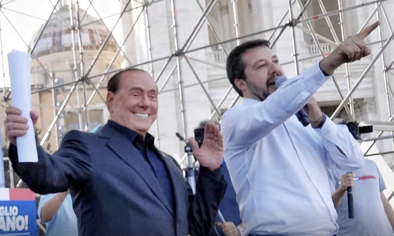 Salvini Berlusconi federazione centrodestra Governo