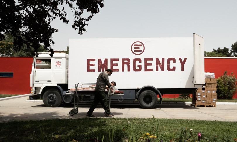 afghanistan ospedale emergency kabul talebani