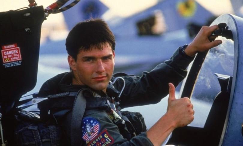 Tom Cruise atterra giardino missione impossible