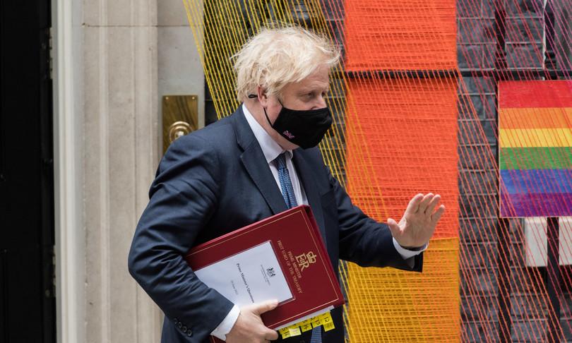 Boris Johnson G7 kabul