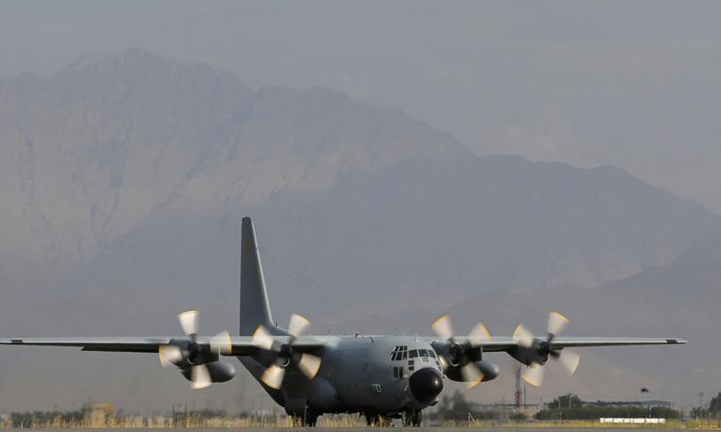 afghanistan spari c130 italiano decollato kabul