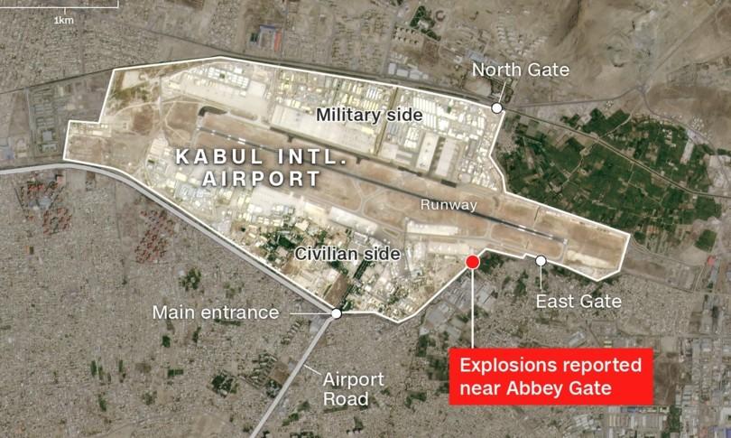 attentato aeroporto kabul isis