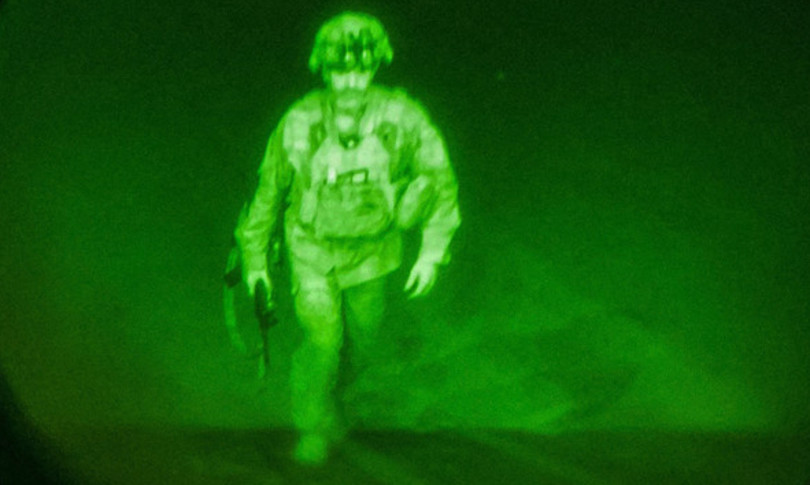 Donahue ultimo soldato americano lasciare afghanistan