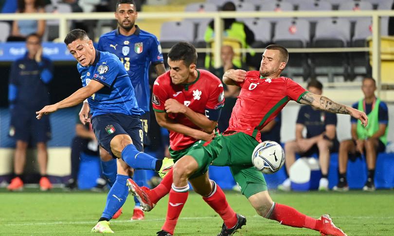 mondiali italia non sfonda solo 1 1 bulgaria