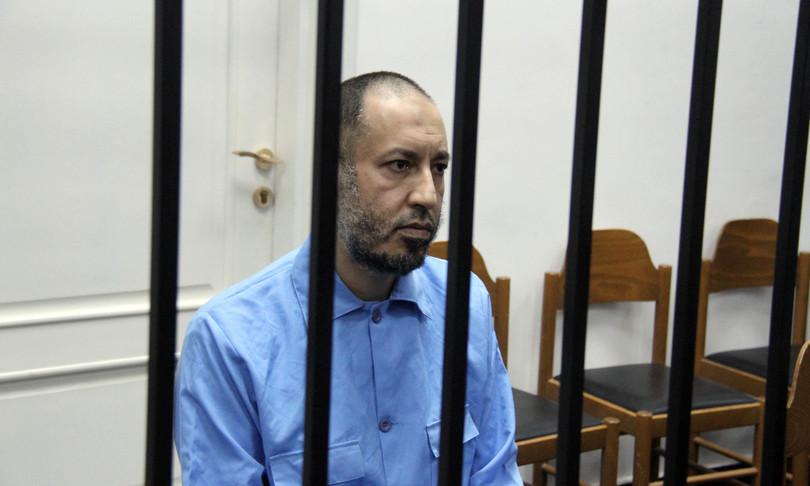 Libero figlio Gheddafi carcere sette anni