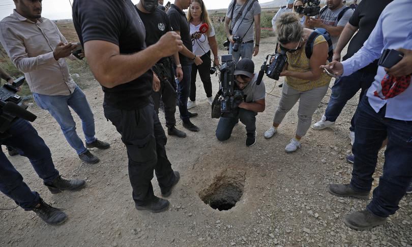 Israele palestinesi evadono carcere massima sicurezza