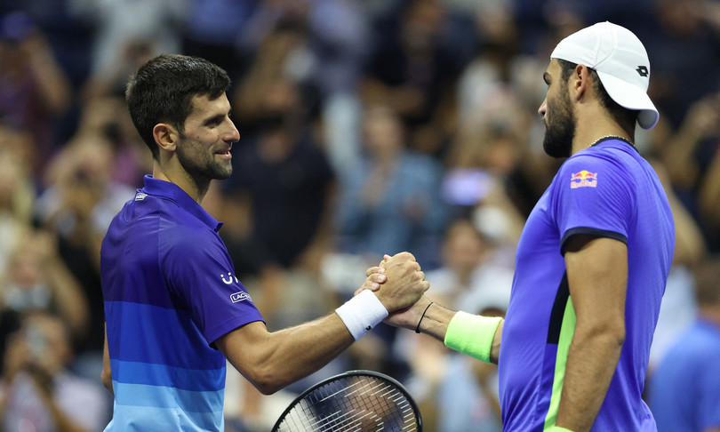 tennis Djokovic Berrettini semifinale Us Open