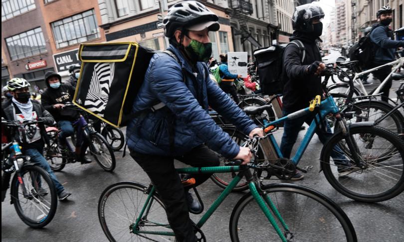 Usa big food delivery causa New York San Francisco