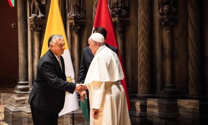 papa incontra Orban viaggio ungheria