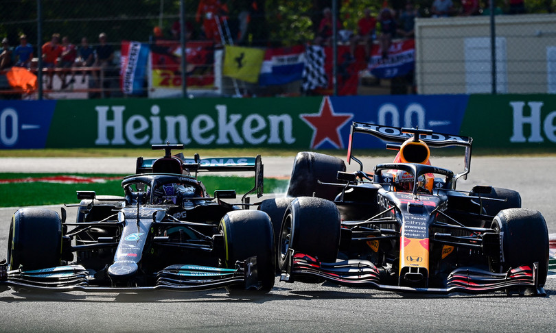 F1 Gp Italia Daniel Ricciardo doppietta McLarenMax Verstappen