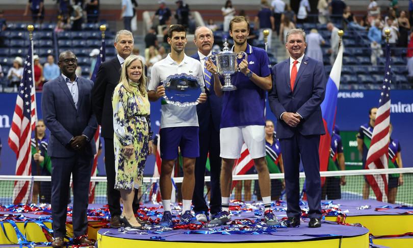 us open a Medvedev niente Grande Slam Djokovic