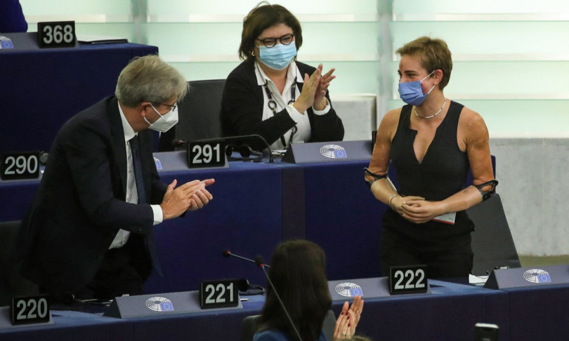 Bebe Vio fenice azzurra incarna nuova Europa